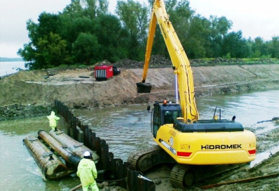 Modernizacja pompowni wody rzecznej wraz z kanałem dopływowym z rzeki Wisły dla ANWIL S.A.
