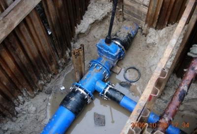 Modernizacja sieci wodociągowo-kanalizacyjnej – Łódź