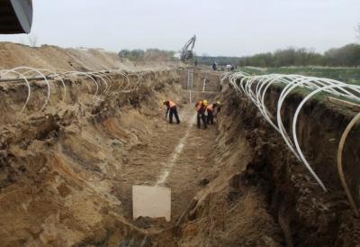 Przebudowa rurociągu odprowadzania ścieków na terenie Anwilu S.A. we Włocławku