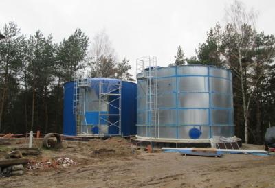 Rozbudowa Stacji Uzdatniania wody wraz z budową zbiorników retencyjnych, siecią wodociągową w Sępólnie Krajeńskim