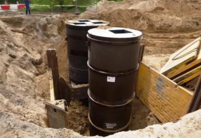 Budowa przepompowni ścieków  P5 wraz z infrastrukturą techniczną pompowni , kanalizacji ściekowej i przewodu tłocznego w Stargardzie