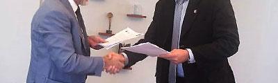 Podpisanie umowy z MPWiK