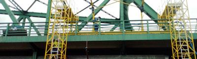 Aktualności z budowy na moście