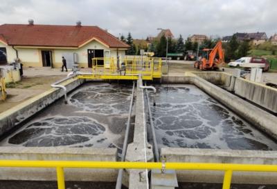 Przebudowa i rozbudowa oczyszczalni ścieków w Wąwelnie