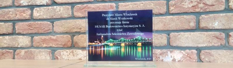 Spółka HUSAR ambasadorem szkolnictwa zawodowego